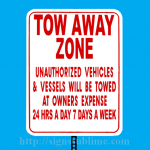 109 Tow Away Zone