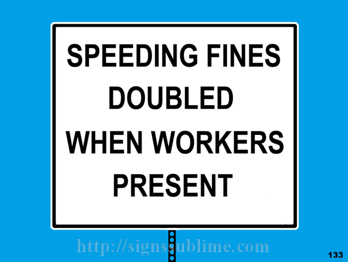 133 Fines Doubled