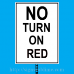 139 No Turn on Red