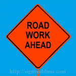 155 Road Work Ahead