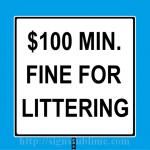 165 Litter Law
