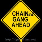 205 Chain Gang Ahead