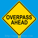 264 Overpass Ahead
