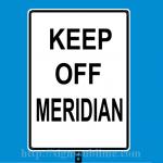 271 Keep Off Meridian