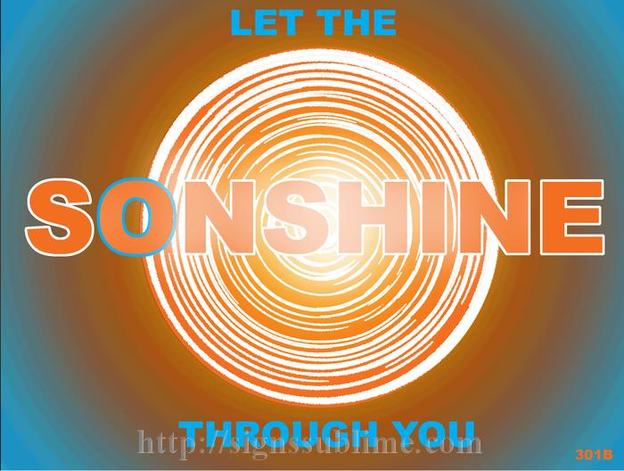 301 Sunshine to Sonshine