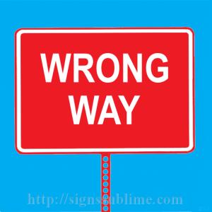 316 Wrong Way