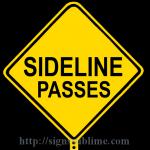 347 Sideline Passes