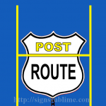 418 Post Route