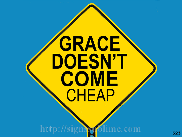 523 No Cheap Grace