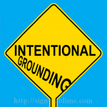 563 Intentional Grounding