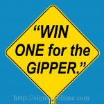 565 Win One for the Gipper
