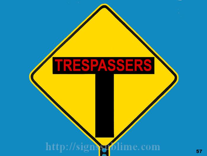 57 Tresspassers Forgiven