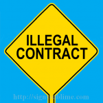 582 Illegal Contract