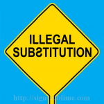 584 Illegal Substitution