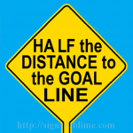 586 Half the Distance