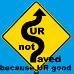 850 Saved Not Through Good Works