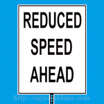 96 Reduced Speed Ahead